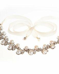 MEG Jewelry Marilyn headband and necklace Wedding Necklace photo