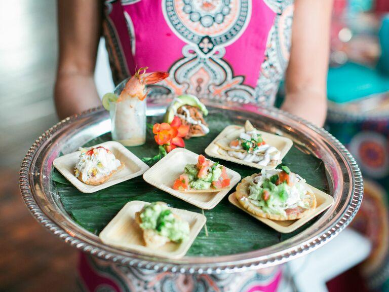 Fiesta-themed appetizers