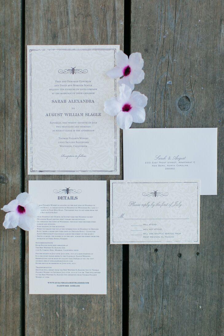 Elegant Printed Invitations