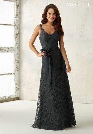 Morilee by Madeline Gardner Bridesmaids 21516 V-Neck Bridesmaid Dress