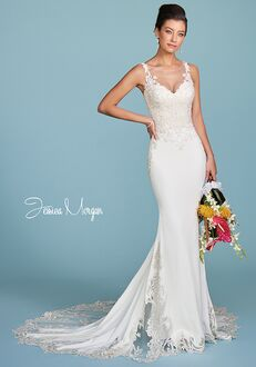 Jessica Morgan MARCH, J1990 Mermaid Wedding Dress