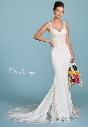 Jessica Morgan MARCH, J1990 Mermaid Wedding Dress