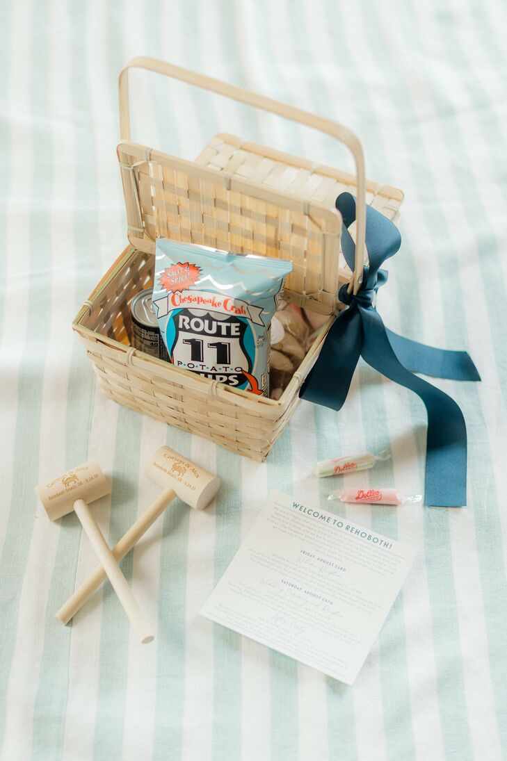 Coastal Chic Crab-Inspired Welcome Amenities
