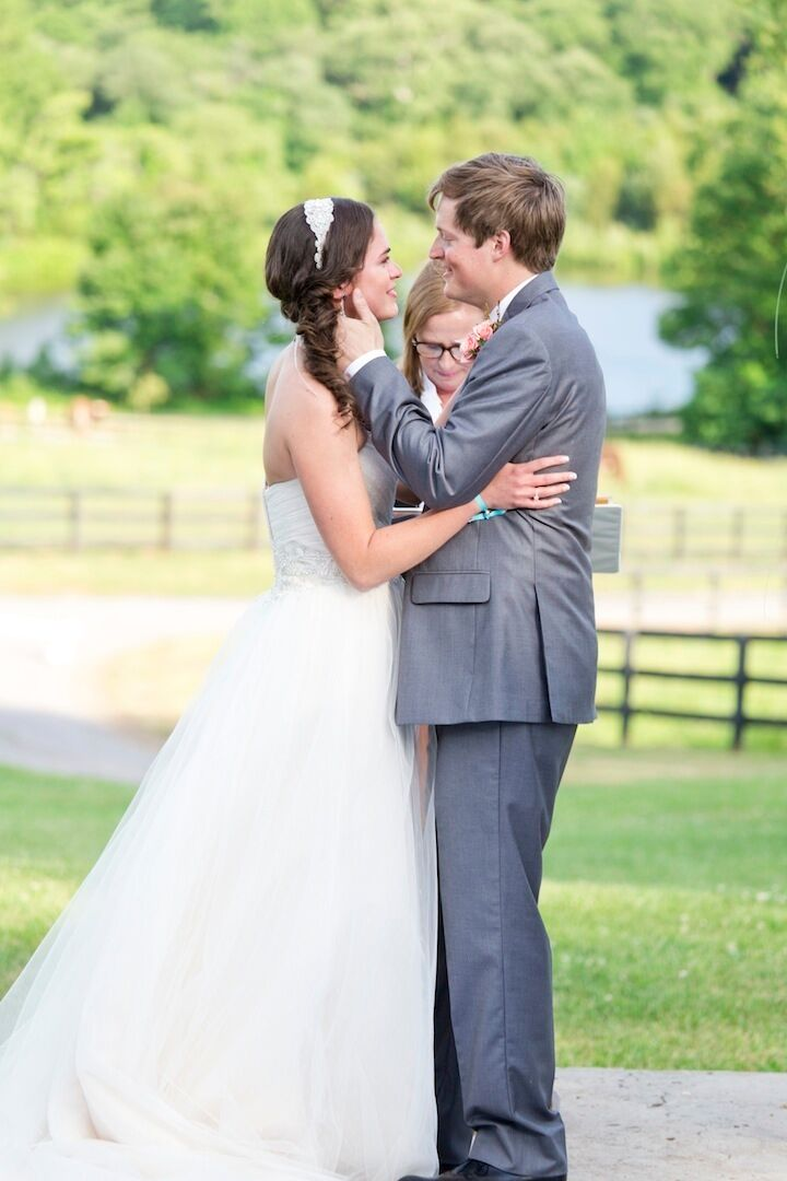 Outdoor Ceremony at Rixey Manor