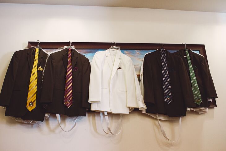 Hogwarts Houses-Inspired Groomsmen Attire