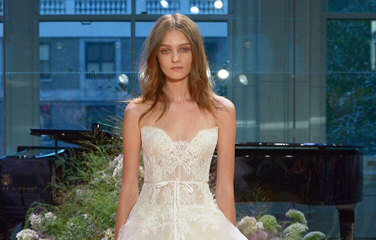 Monique Lhuillier Tresor Ball Gown Wedding Dress