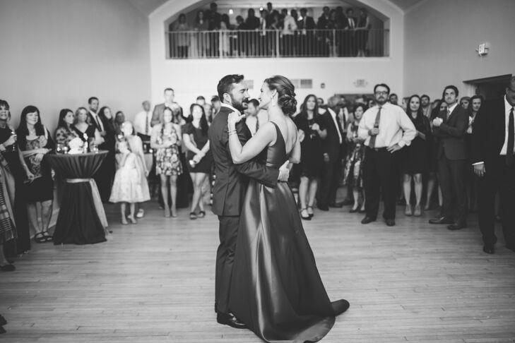 First Dance at Wedding in St. Louis, Missouri