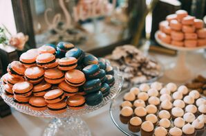 French Macarons and Assorted Desserts