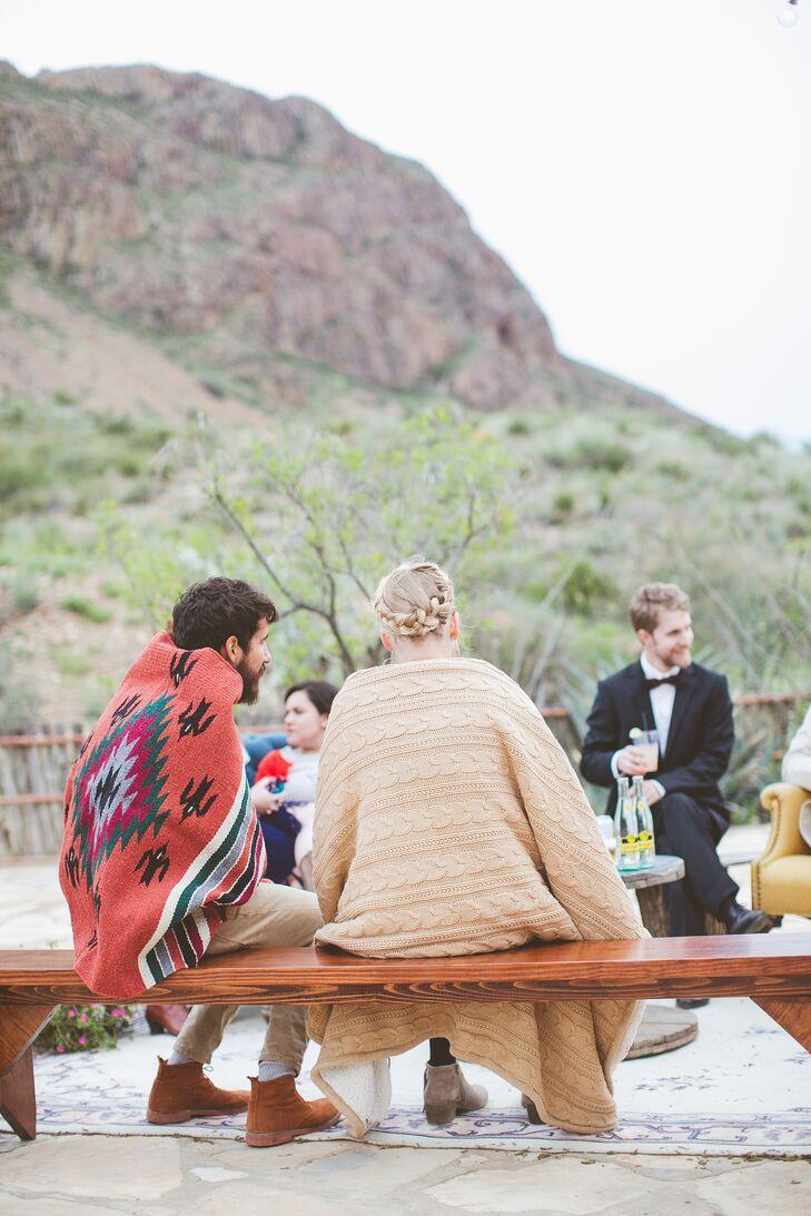 Outdoor Wedding Reception Blankets