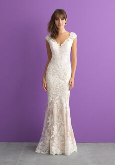 Allure Romance 3005 Sheath Wedding Dress