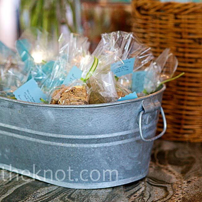 Oatmeal Cookie Wedding Favors