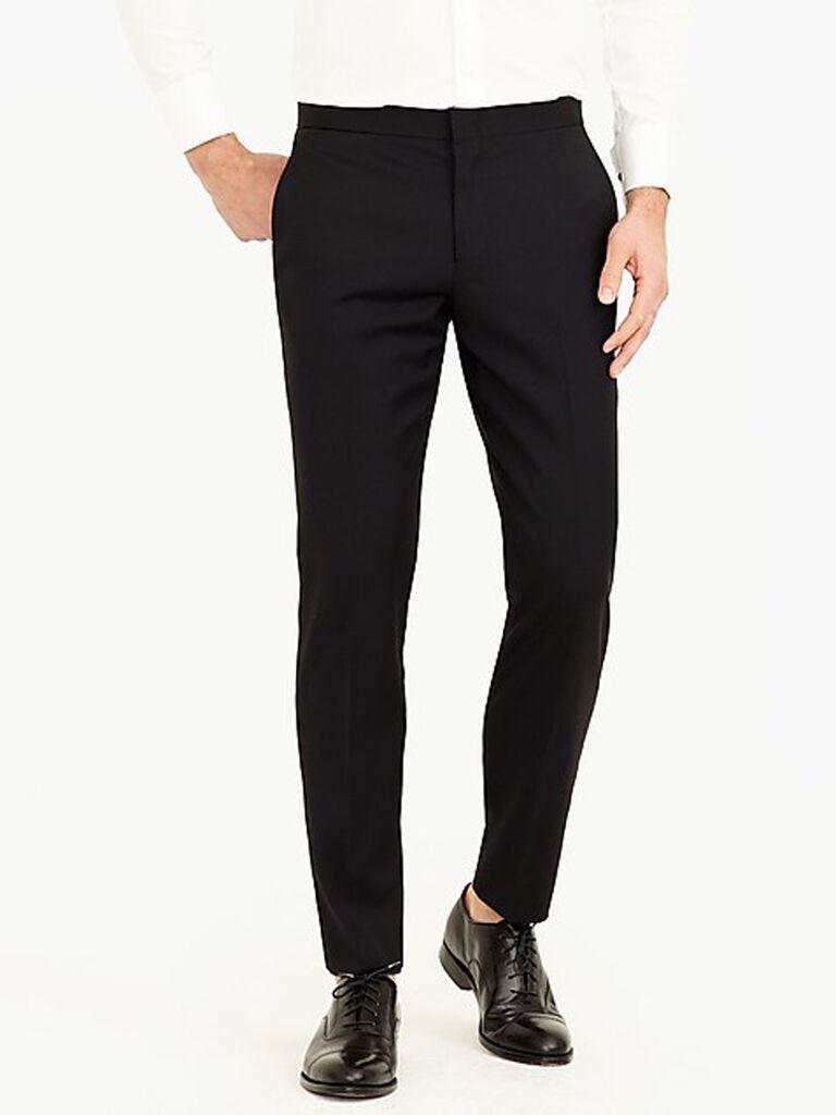 Ludlow slim-fit tuxedo pant in Italian wool