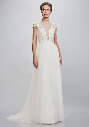 THEIA Rosetta A-Line Wedding Dress