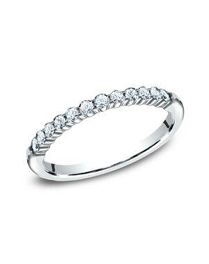 Benchmark 552621W White Gold Wedding Ring