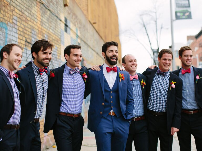 30c3cac9cf5e Subtle Ways to Personalize Your Groomsmen Outfits