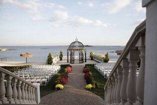 Wedding reception venues in hudson valley ny the knot the surf club on the sound junglespirit Images