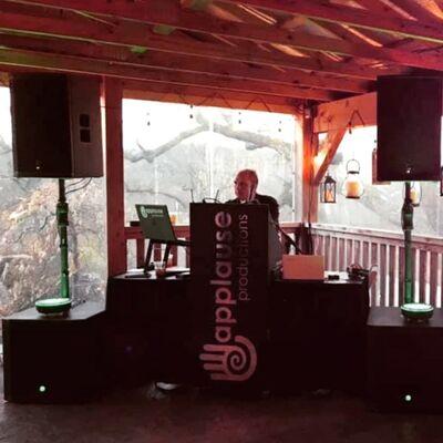 Applause Weddings DJ-Video-Fisheye Photobooth