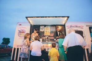 The Sweet Divine Cupcake Truck Wedding Dessert