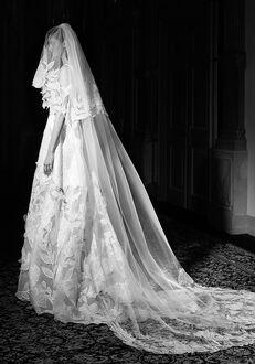 Viktor&Rolf Mariage LACE FLOWER VEIL Wedding Dress
