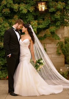 Essense of Australia D2907 Mermaid Wedding Dress