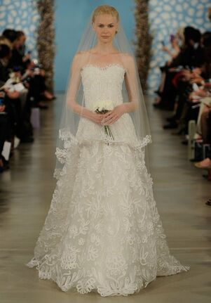 Oscar de la Renta Bridal 2014 Look 23 A-Line Wedding Dress