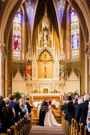 Formal Church Wedding in Toledo, Ohio