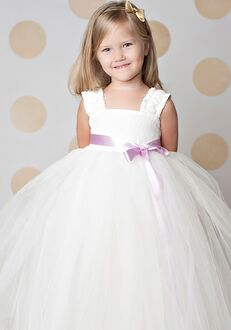 FATTIEPIE elsa ivory Flower Girl Dress
