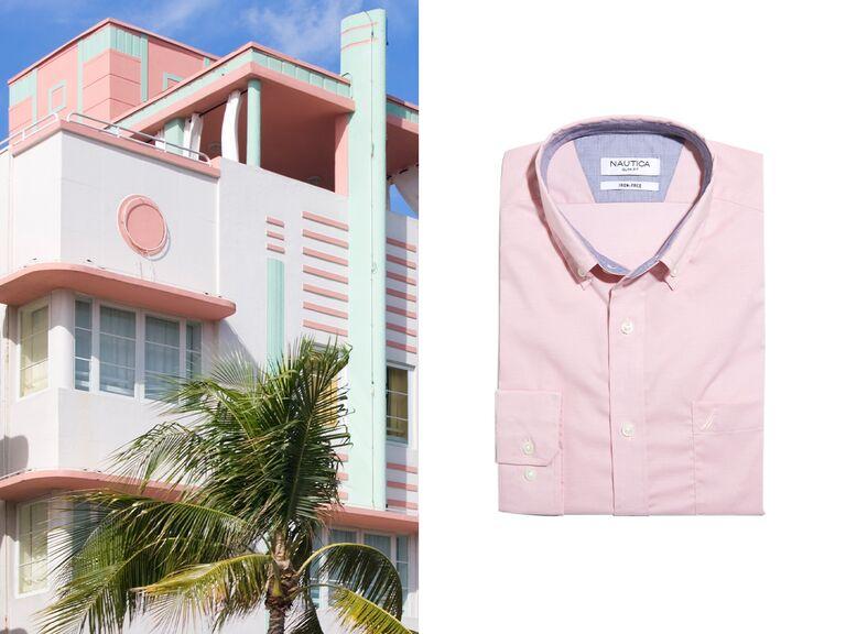 shirt from nautica tailored shop