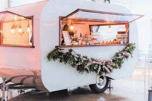 Mobile Bar with Garland