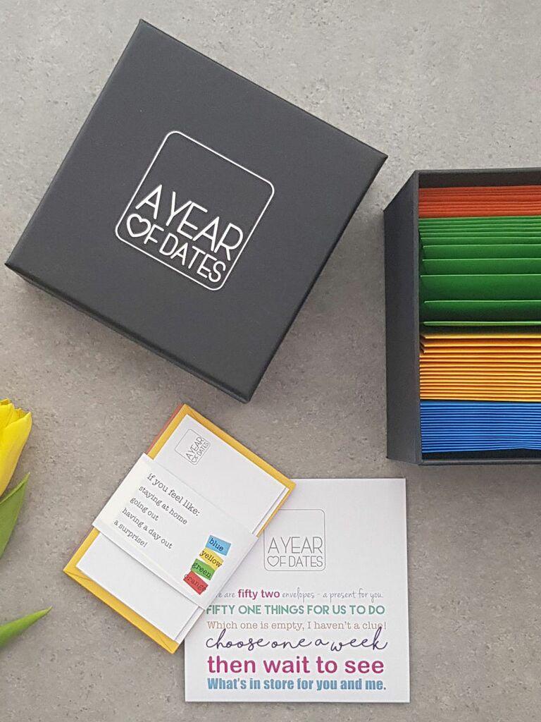 a box of date night ideas