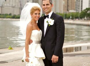 The Bride Natalie Petric, 32, an attorney The Groom James Whalen, 32, also an attorney The Date July 24   Inspired by Natalie's classic, old Hollywood