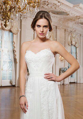 Lillian West 6349 Mermaid Wedding Dress