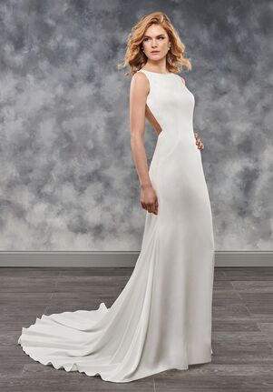 Mary's Bridal Moda Bella MB2025 Sheath Wedding Dress