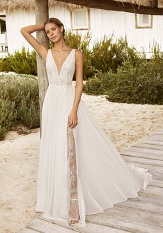 Aire Barcelona VANY Sheath Wedding Dress