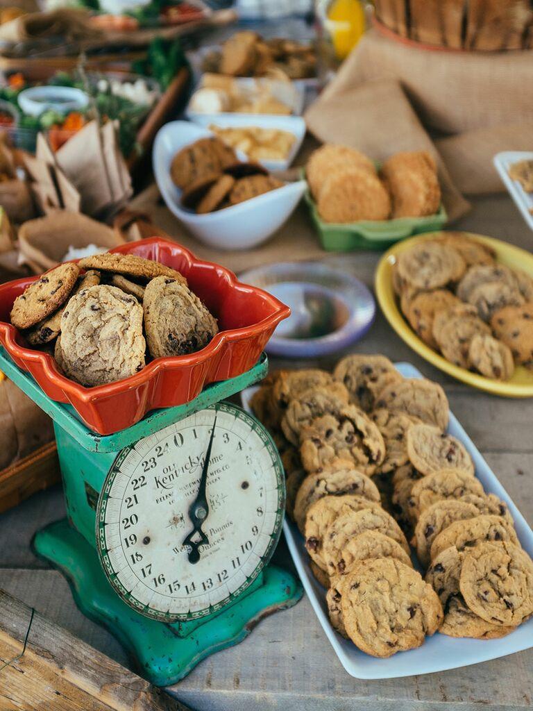 Wedding Cookie Dessert Ideas