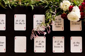 Playing Card Escort Cards