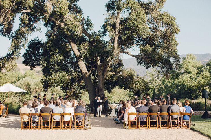 Outdoor Same-Sex Ceremony at Sunstone Winery