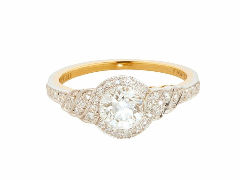 Erstwhile vintage engagement ring