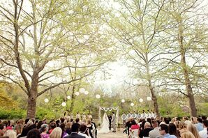 Outdoor Spring Reception