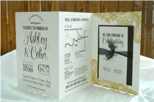 Invitations Paper In Dallas Tx The Knot