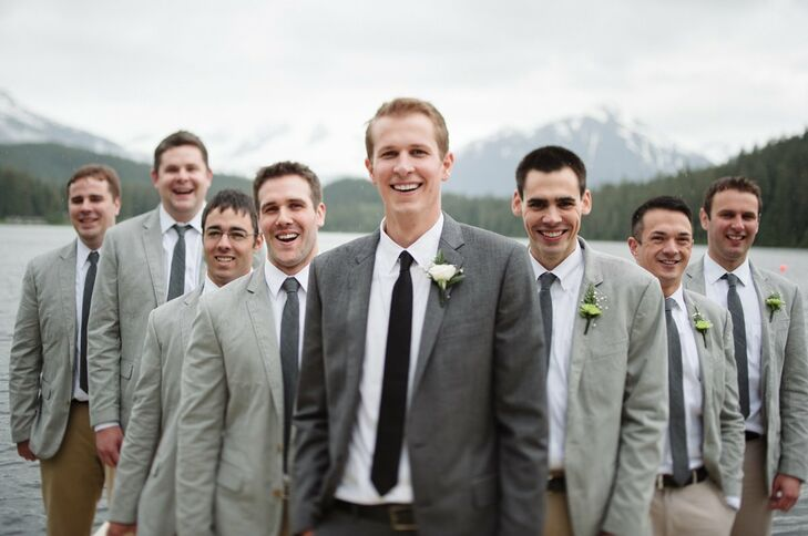 Wedding Groom And Groomsmen Attire