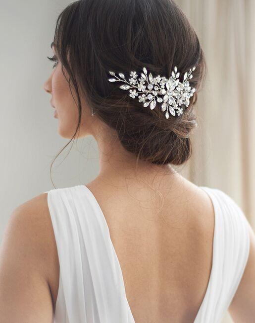 Dareth Colburn Stella Bridal Comb (TC-2408) Silver Pins, Combs + Clip