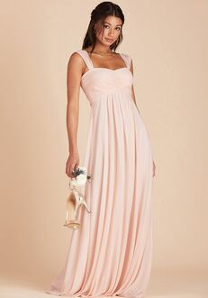 Birdy Grey Maria Convertible Dress in Pale Blush Sweetheart Bridesmaid Dress