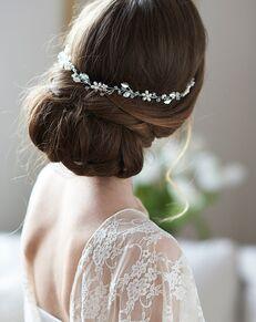 Dareth Colburn Adela Pearl Hair Vine (TI-3369) Gold, Silver Headband