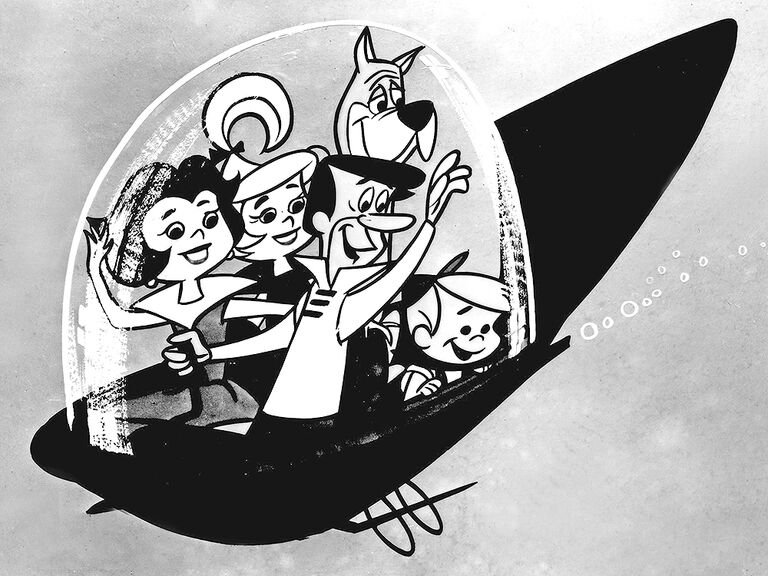 The Jetsons famous cartoon couples