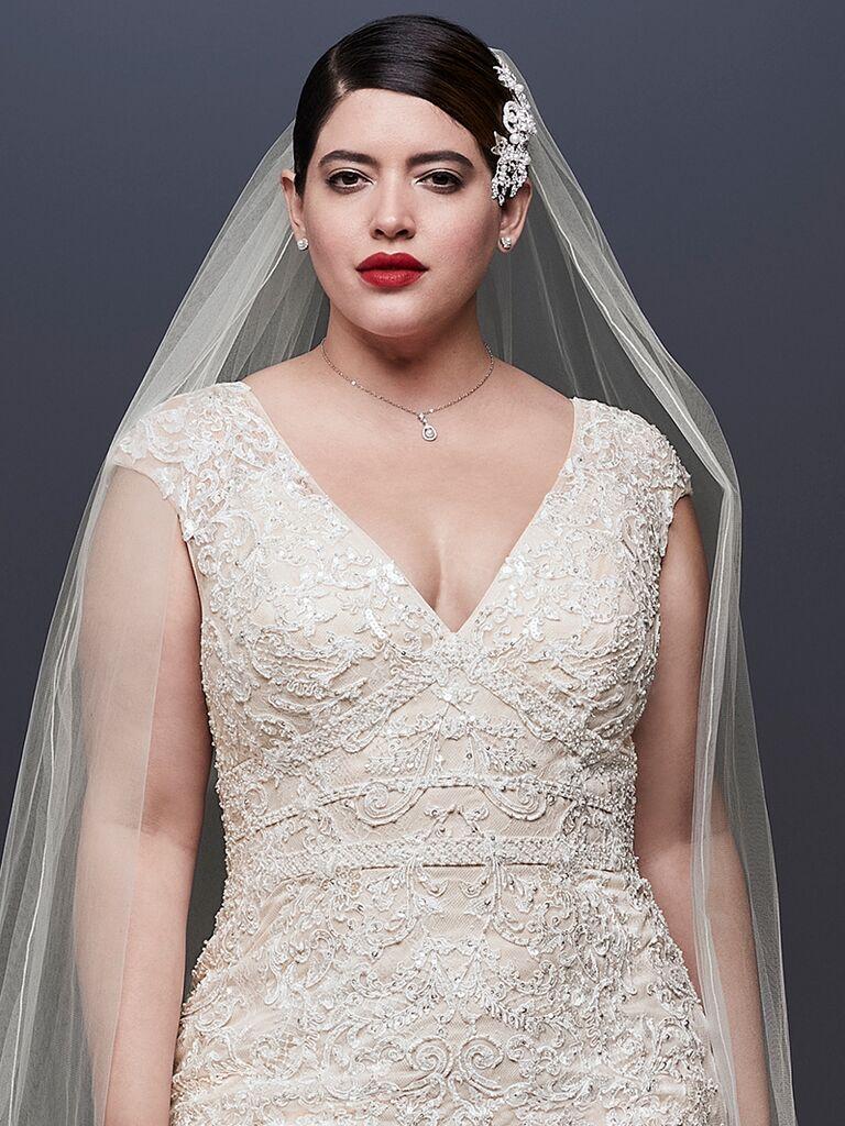Oleg Cassini at David\'s Bridal Spring 2019: Bridal Fashion Week Photos