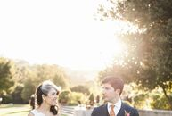 At Maysa and Bahram's Kohl Mansion wedding in Burlingame, California, the couple used vibrant floral arrangements to bring out their heritage. We trie