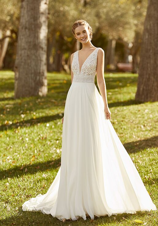 Aire Barcelona KEREM Sheath Wedding Dress