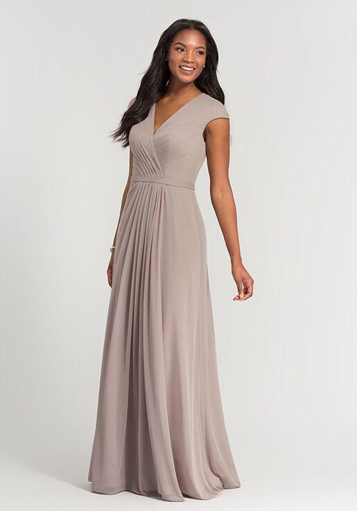 Kleinfeld Bridesmaid KL-200035 V-Neck Bridesmaid Dress