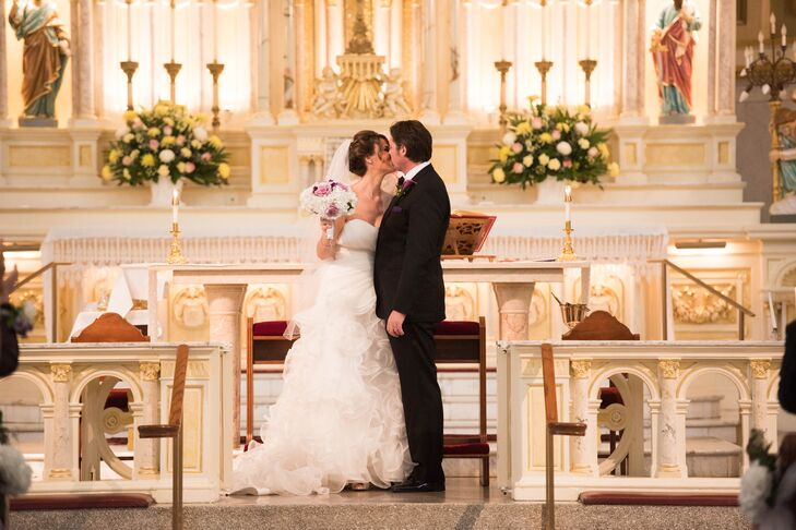 Saint Mary of the Angels Church Wedding Ceremony